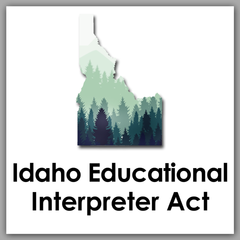 Idaho Educational Interpreter Act